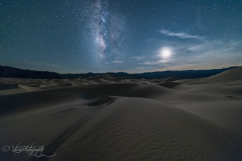 Moon Dance I, Eureka Dunes - Death Valley, CA