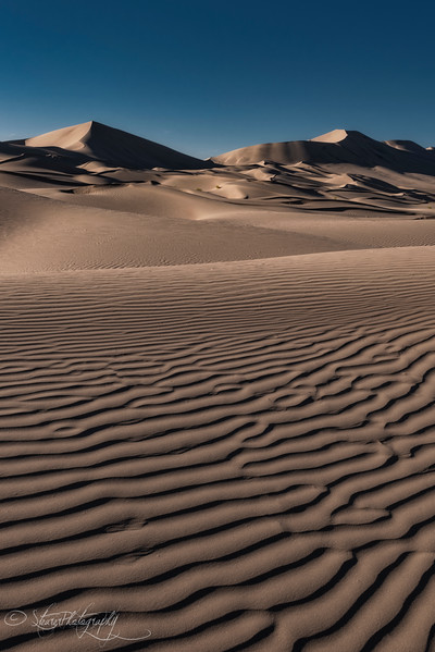 Perfect Patterns of Eureka Dunes - Death Valley, CA