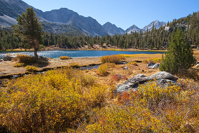 Lundy Lake. Eastern Sierra
