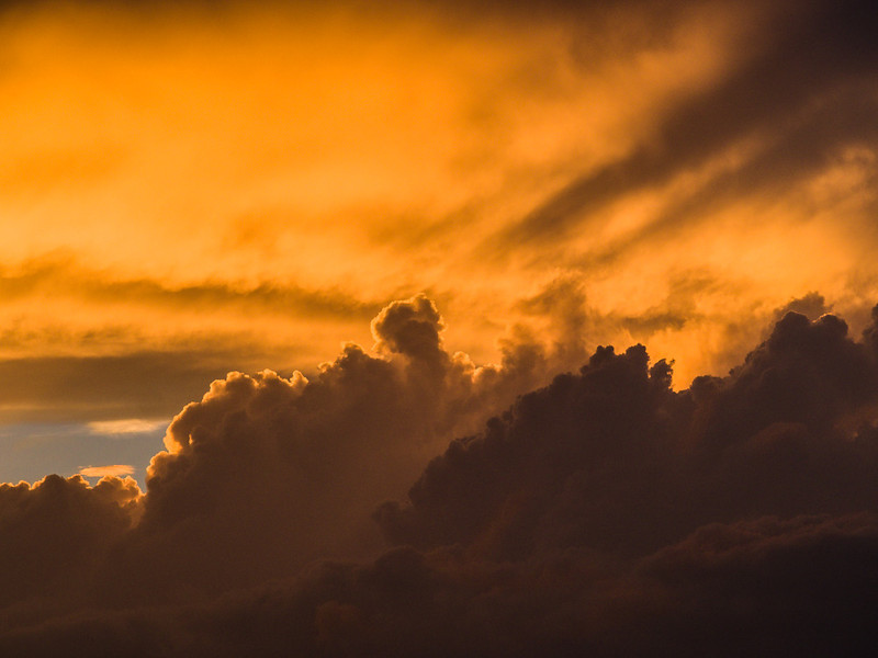 Late Afternoon Sky Detail