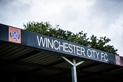Winchester City v Eastleigh pre season friendly.