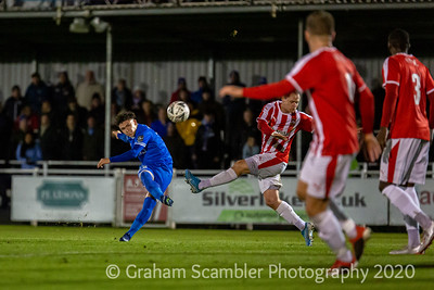 Eastleigh FC win 3-0 against Stourbridge FC in the 1st round replay of the Emirates FA Cup at THe Silverlake Stadium. Goals from Scott Rendell, Sam Smart and Reda Johnson.