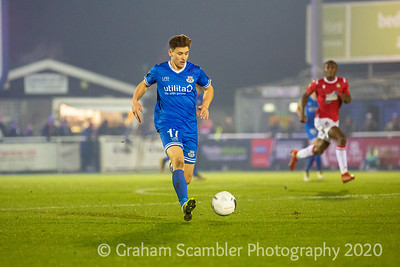 Eastleigh v Wrexham in the National League. 2-0 win to Wrexham.