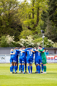 Eastleigh v Barnet in the National League at the Silverlake Stadium, Eastleigh 15th May 2021