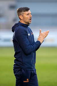 Ben Strevens manager of Eastleigh during Eastleigh v Notts County in the National League 27/04/2021 at The Silverlake Stadium Eastleigh Hampshire. Images by Graham Scambler Photography