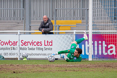 Eastleigh v Stockport County National League 20/02/2021