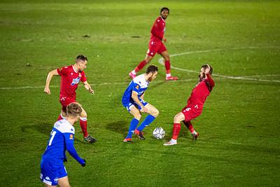 Eastleigh v Wrexham in the National League 02/02/2021