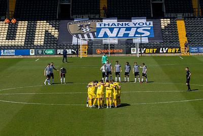 Notts County v Eastleigh National League 17/04/2021