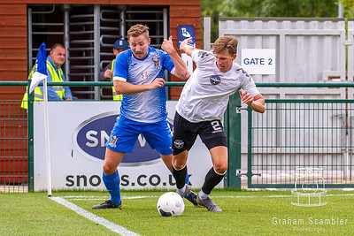 A pre-season friendly between Totton and Eastleigh FC