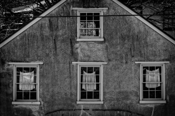 Three Curtains [Harpers Ferry, WV]