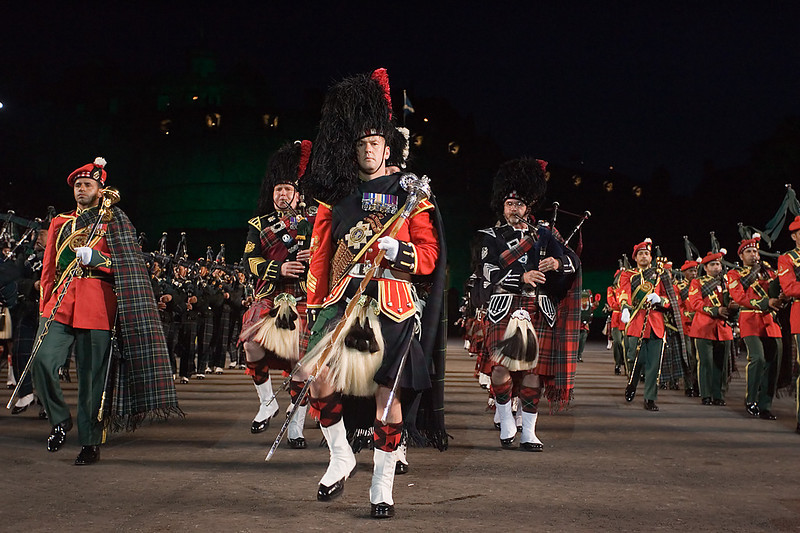 John Chapman. Edinburgh Tattoo.