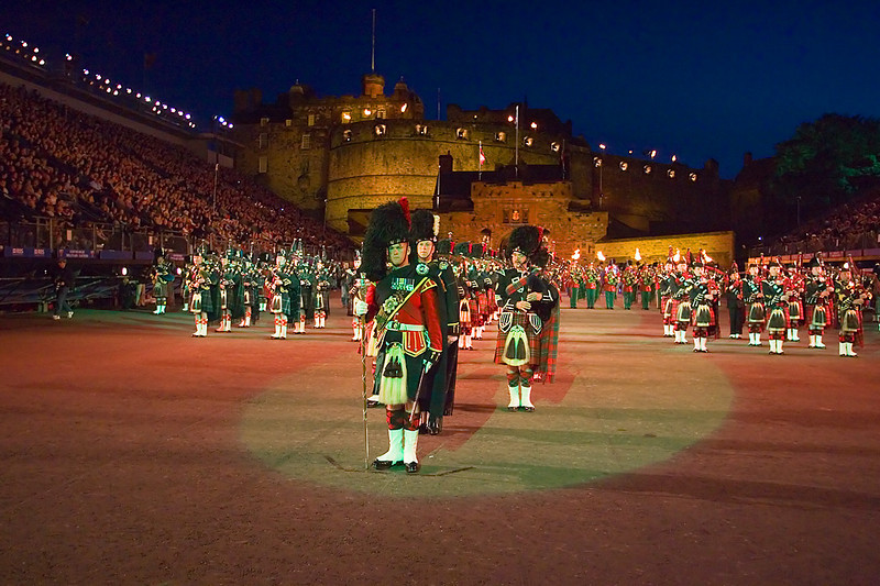 John Chapman. Pictures of Edinburgh Castle.