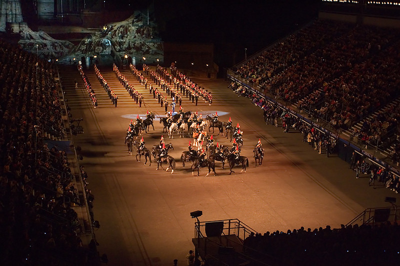 Edinburgh Tattoo. John Chapman.