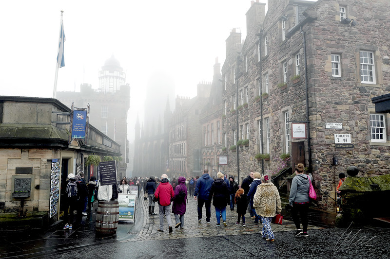Foggy Edinburgh