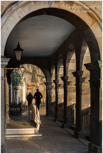 Victoria Terrace archway