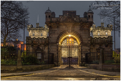 George Heriot's School archway entrance, Lauriston Place (2)