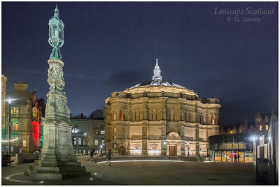 McEwan Hall and Bristo Square