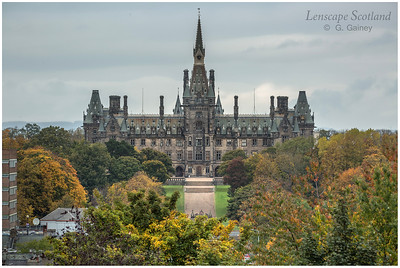Fettes College from Learmonth Terrace, Queensferry Road
