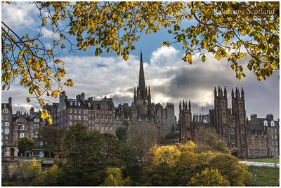 Autumn in East Princes Street Gardens (3)