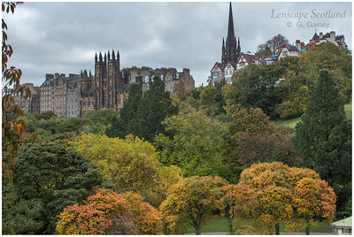 Autumn in West Princes Street Gardens (2)