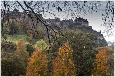 Autumn in West Princes Street Gardens (1)