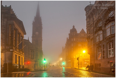 High Street and the Tron in the mist (1)
