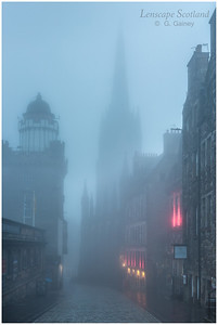 Castlehill in the mist