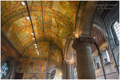 Mansfield Traquair Church, featuring Phoebe Anna Traquair murals (3)