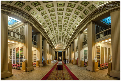 Old College (Edinburgh University), South Bridge - Playfair Library