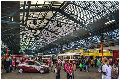 Lothian buses depot, Annandale Street (2)