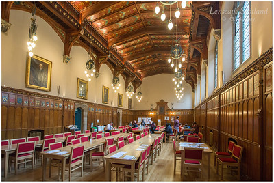New College (Edinburgh University) - Rainy Hall