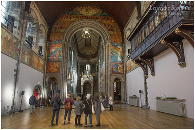 Mansfield Traquair Church, featuring Phoebe Anna Traquair murals (1)