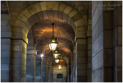 City Chambers entrance archway, High Street