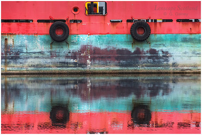 Port of Leith reflections 1