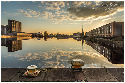 Albert Dock, early morning