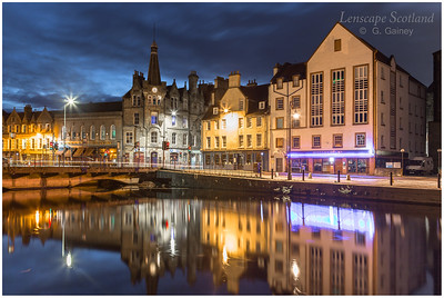 Early morning reflections at the Shore, Leith (2)