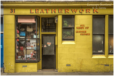 Leatherwork leather repair shop, Lauriston Street (1)