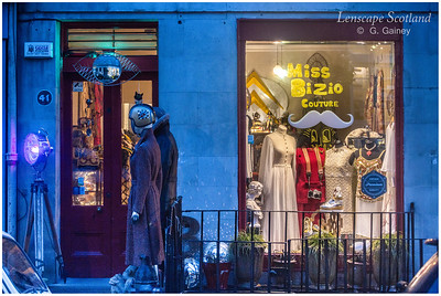 Miss Bizio Vintage Clothing, Saint Stephen Street, Stockbridge