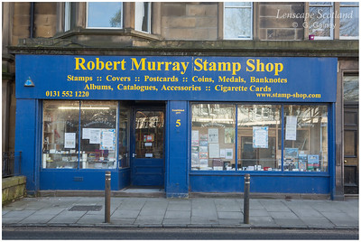 Robert Murray stamps, coins and medals, Goldenacre (1)
