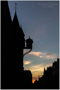 Canongate Tolbooth and Peoples Story Museum at dawn