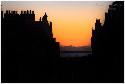 High Street chimneys and roofs at dawn (2)