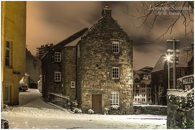 Bell's Brae and Hawthornbank Lane, Dean Village