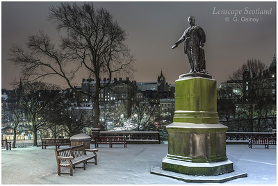 David Livingstone statue, East Princes Street Gardens