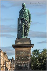 Robert Viscount Melville statue, Melville Street