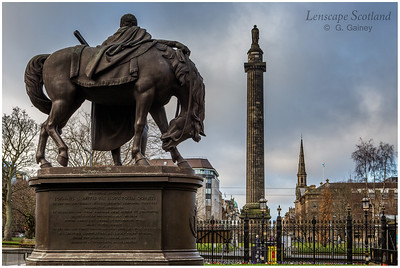 Hopetoun and Melville monuments, Saint Andrew Square