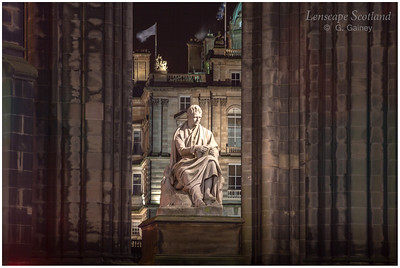 Sir Walter Scott statue, Scott Monument (2)