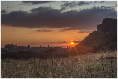 Holyrood Park summer sunset (2)