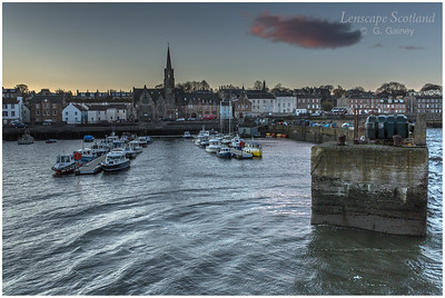 Newhaven harbour at dawn (2)