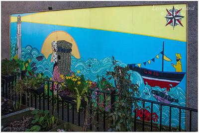 Newhaven Community Garden artwork