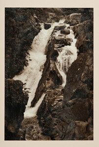 High Falls By John Maggiotto, 12 x 8 inches, pigment print, mounted on arches  sealed with beeswax